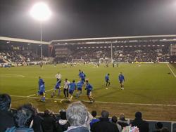 estádio cottage de futebol